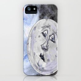 Moon and the Balloon iPhone Case