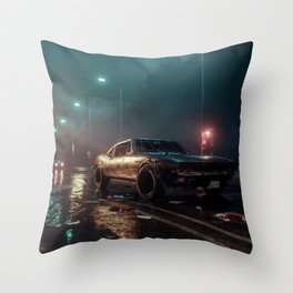 Drive Alone Throw Pillow