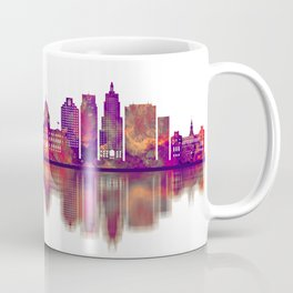 Providence Rhode Island Skyline Coffee Mug