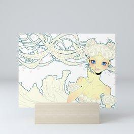 Vision of the Moon - Love Mini Art Print
