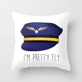 I'm Pretty Fly Throw Pillow