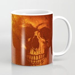 Fire Skull Coffee Mug