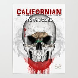 To The Core Collection: California Poster