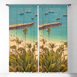Beach Dock | OPEN WINDOW ART Blackout Curtain