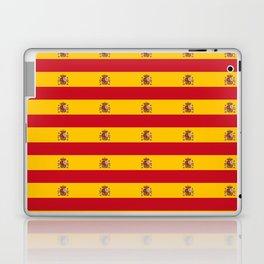 Flag of spain 2-spain,flag,flag of spain,espana, spanish,plus ultra,espanol,Castellano,Madrid,prado Laptop & iPad Skin