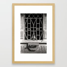 Peek Framed Art Print