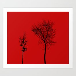 TOGETHER IN CAOS Art Print