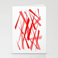chaos Stationery Cards featuring chaos by Sébastien BOUVIER