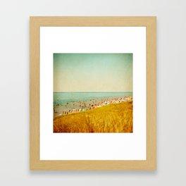 The Last Day of Summer Framed Art Print