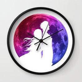 Anime Moon Inspired Shirt Wall Clock