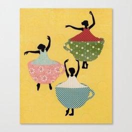 Shall We Dance Canvas Print