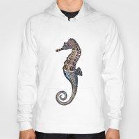 seahorse Hoodies featuring Seahorse by SilviaGancheva