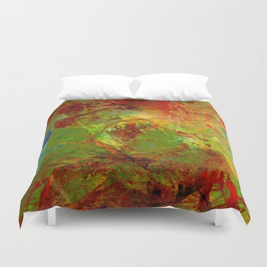 Dreamlike landscape Duvet Cover
