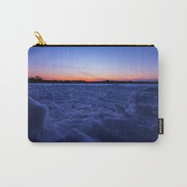 Winter Snowscape Carry-All Pouch