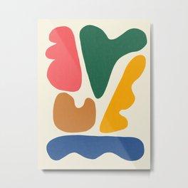 Abstract Shapes # 9 Metal Print