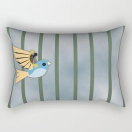 Mechanical birds Rectangular Pillow