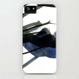 gestural abstraction iPhone Case
