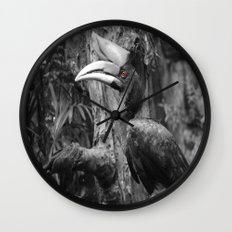 Seeing Red Wall Clock