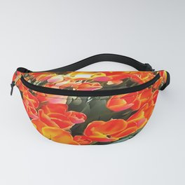 Tulips On Fire Fanny Pack