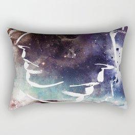 Complicated Feelings Abstract ART Rectangular Pillow