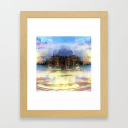 When you must insist upon functional common lighting fixtures. Framed Art Print