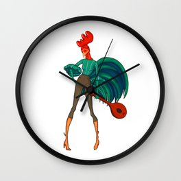 Alan A Dale Roster Wall Clock