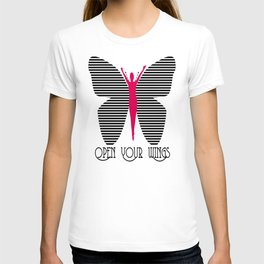 open Your wings II T-shirt