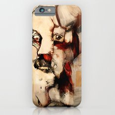 Portrait of a Distracted Man iPhone 6s Slim Case