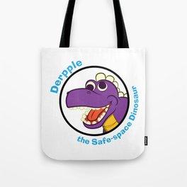 Derpple the Dinosaur Tote Bag