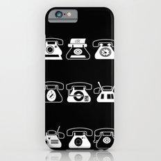 Fifties' Smartphones Black Slim Case iPhone 6s