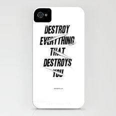 DESTROY Slim Case iPhone (4, 4s)