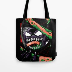 To Catch A Spider (Purple Symbiote) Tote Bag