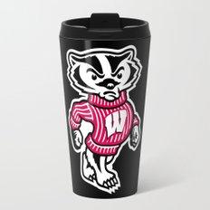NCAA - Badgers Travel Mug