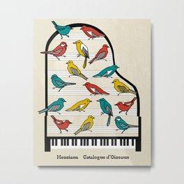 Messiaen - Catalogue d'Oiseaux Metal Print