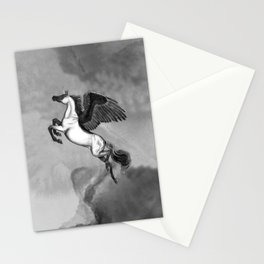 Pegasus Unicorn - Licorne Stationery Cards