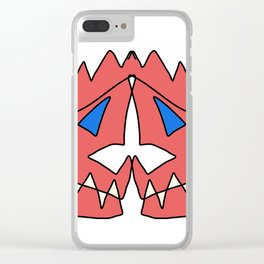 Two Faced Clear iPhone Case
