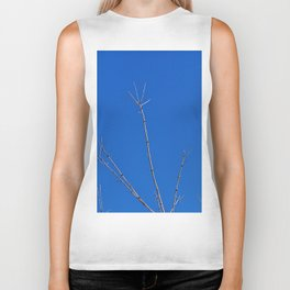 Tree Reaches for the Sky, with a Bony Hand Biker Tank