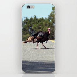 Turkey Crossing iPhone Skin