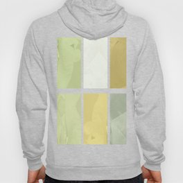 Pale Yellow Poinsettia 1 Abstract Rectangles 1 Hoody