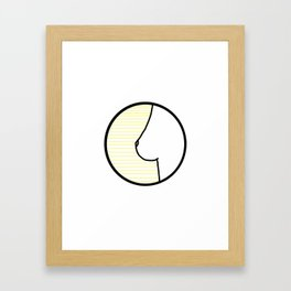 Citron Framed Art Print