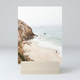 Malibu California Beach Mini Art Print