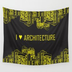 Architecture Wall Tapestry