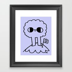 Mine. Framed Art Print