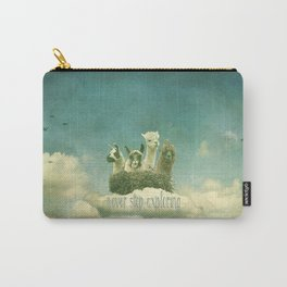 ALPACAS EXPLORING (THE CLOUDS) Carry-All Pouch
