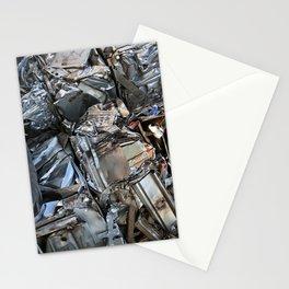 Mangled Metal Stationery Cards