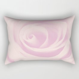 Pink Vintage Rose #1 #floral #decor #art #society6 Rectangular Pillow