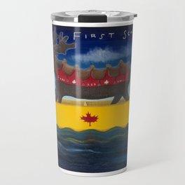 Canada's First School Bus Travel Mug