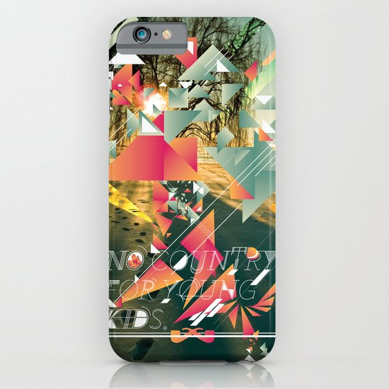 No Country For Young Kids. iPhone & iPod Case