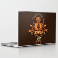 royal Laptop & iPad Skins featuring Royal Army by Hillary White