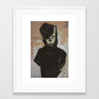 goth Framed Art Prints featuring Goth by Rick Onorato